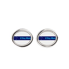 G'Day Mate Oval Cufflinks