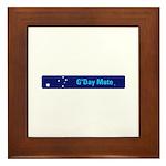 G'Day Mate Framed Tile
