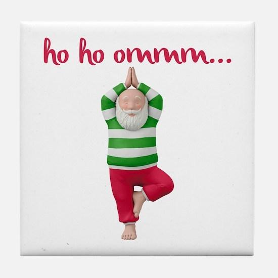Ho Ho Om Tile Coaster