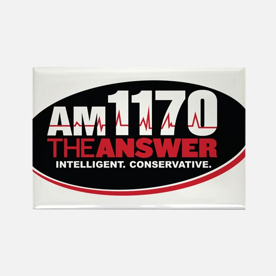 AM 1170 The Answer KCBQ logo Magnets