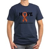 Multiple sclerosis Fitted Dark T-Shirts