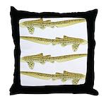 Zebra Shark Throw Pillow
