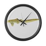 Zebra Shark Large Wall Clock
