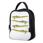 Zebra Shark Neoprene Lunch Bag