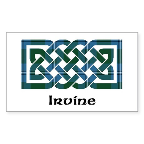 Knot - Irvine Sticker (Rectangle)