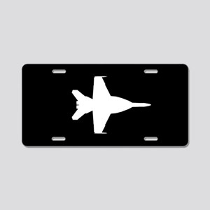 U.S. Military: F-18 Hornet Aluminum License Plate