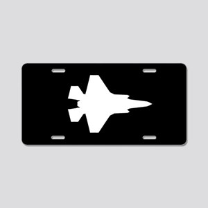 U.S. Military: F-35 Lightni Aluminum License Plate