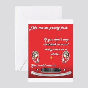 bueller Greeting Cards