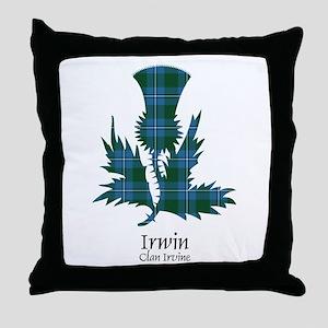Thistle-Irwin.Irvine Throw Pillow