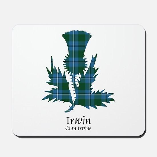 Thistle-Irwin.Irvine Mousepad