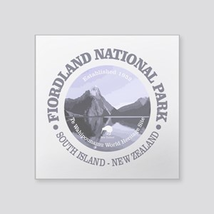 Fiordland NP Sticker
