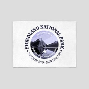Fiordland NP 5'x7'Area Rug