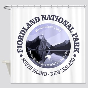Fiordland NP Shower Curtain
