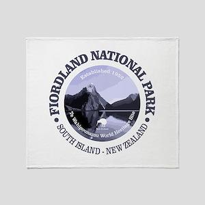Fiordland NP Throw Blanket