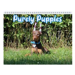 Purely Puppies Wall Calendar