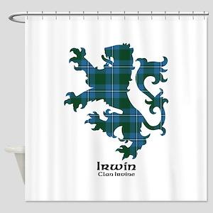 Lion-Irwin.Irvine Shower Curtain