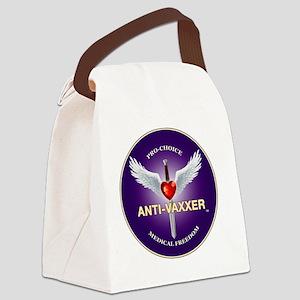 Anti-Vaxxer Banner Canvas Lunch Bag