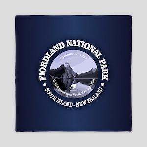 Fiordland NP Queen Duvet