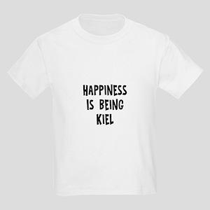 Happiness is being Kiel Kids Light T-Shirt