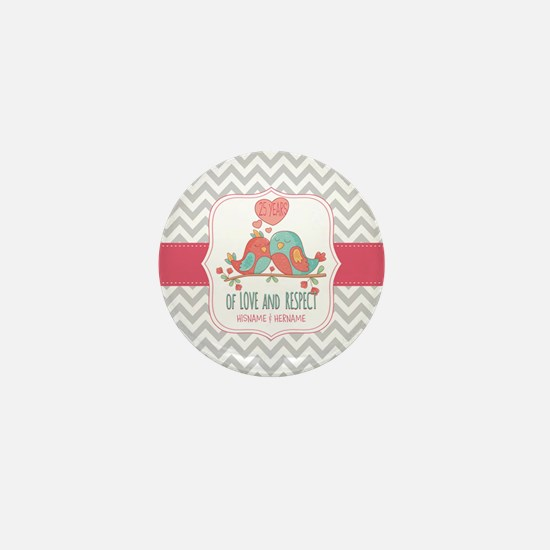 Create Personalized Anniversary Mini Button
