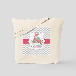 Create Personalized Anniversary Tote Bag