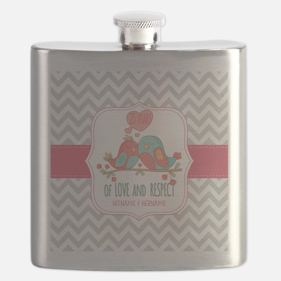 Create Personalized Anniversary Flask