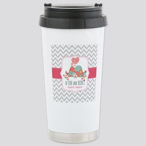 Create Personalized Ann Stainless Steel Travel Mug