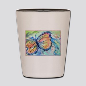 Butterfly, nature art! Shot Glass