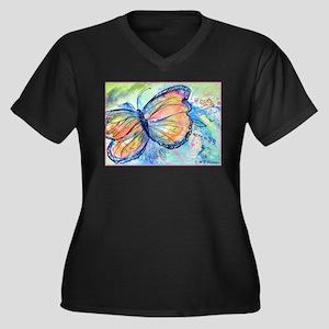 Butterfly, nature art! Plus Size T-Shirt