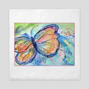 Butterfly, nature art! Queen Duvet