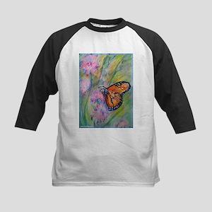 Bright, butterfly, art Baseball Jersey