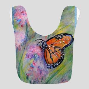 Bright, butterfly, art Polyester Baby Bib