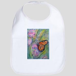Bright, butterfly, art Baby Bib