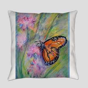 Bright, butterfly, art Everyday Pillow