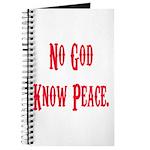 No God, Know Peace Journal