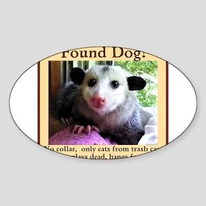 Found Dog Sticker