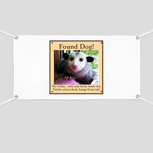 Found Dog Banner