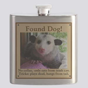 Found Dog Flask