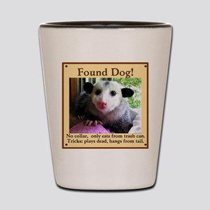 Found Dog Shot Glass