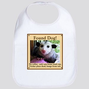 Found Dog Baby Bib