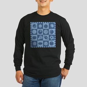 Sports Grid Long Sleeve T-Shirt