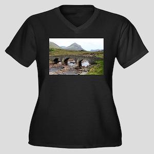 Sligachan Bridge, Isle of Skye, Plus Size T-Shirt