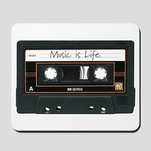 Music is Life. Mousepad