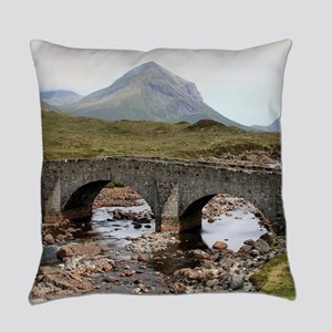 Sligachan Bridge, Isle of Skye, Sc Everyday Pillow