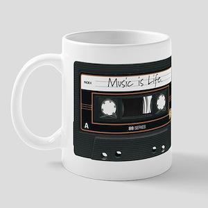 Music is Life. Mug