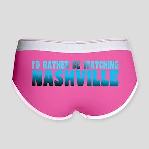 I'd Rather Be Watching Nashville Women's Boy Brief
