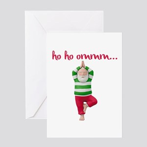 Ho Ho Om Greeting Cards