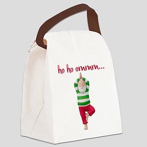 Ho Ho Om Canvas Lunch Bag