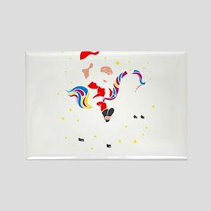 Christmas Unicorn Magnets