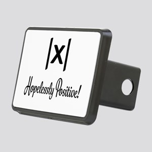 Hopelessly Positive Math Humor Hitch Cover